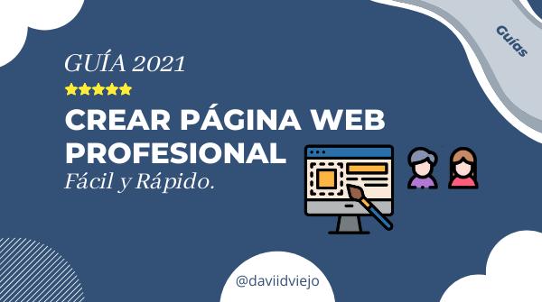Como crear una web