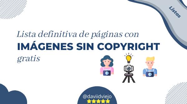 Paginas con imagenes sin copyright gratis